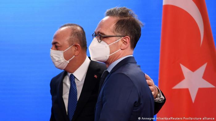Deutschland Außenminister Maas empfängt den türkischen Außenminister