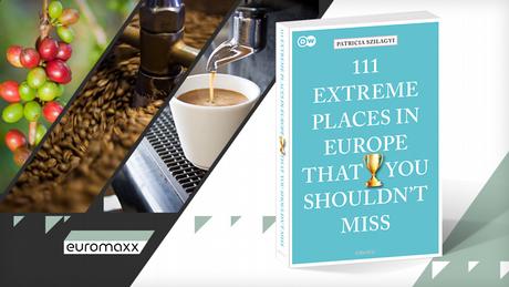 DW Euromaxx Zuschaueraktion Cafe mit Buch 111 Orte englisch