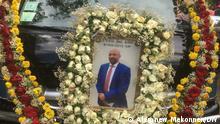 Äthiopien Beerdigung Abere Adamu