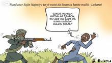 Karikatur: Nigeria Banditen