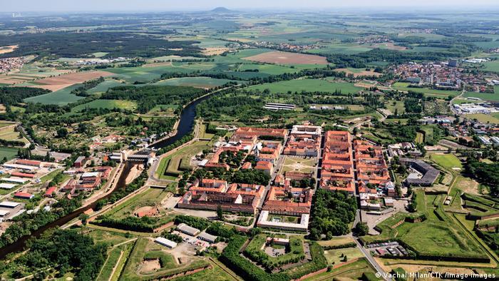 Theresienstadt Luftaufnahme