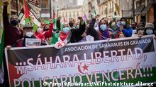 Internationaler Protest I Free Sahara