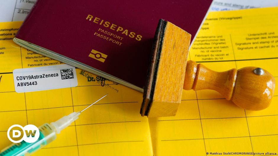 German police warn of fake COVID vaccine passport problem