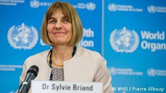 Dr. Sylvie Briand von der WHO