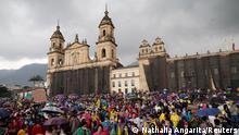 Kolumbien Proteste gegen Armut und Polizeigewalt