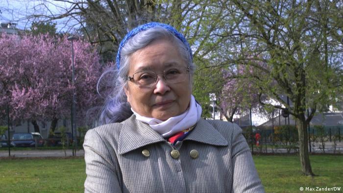 La demandante, Tran To Nga, participó en el movimiento independentista de Vietnam del Norte y también cubrió la guerra (1955-1975) como periodista.