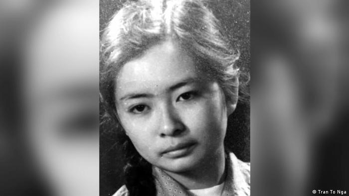 Tran To Nga as a young woman