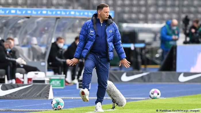 Hertha Berlin coachPal Dardai