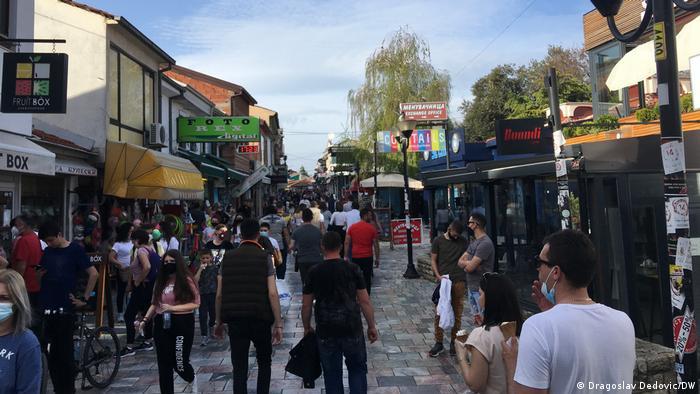 Pešačka zona u Ohridu