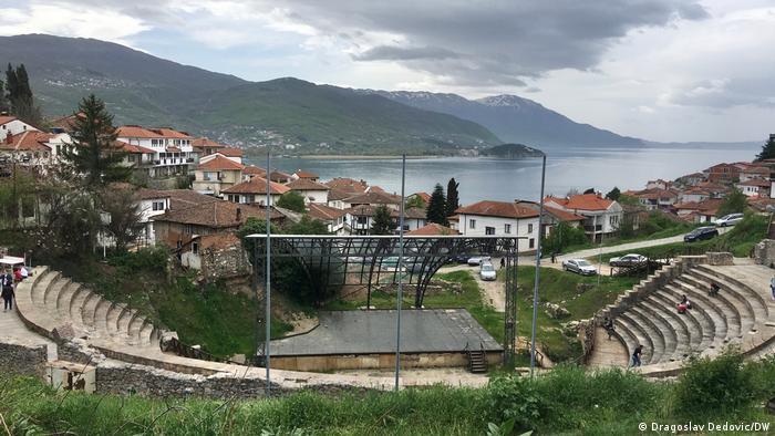 Nordmazedonien | Ohrid | Antikes Theater
