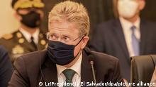 Dr. Peter Woeste, Botschafter der Bundesrepublik Deutschland in El Salvador
