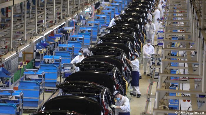 В Китае зафиксирован неожиданный спад в промышленности