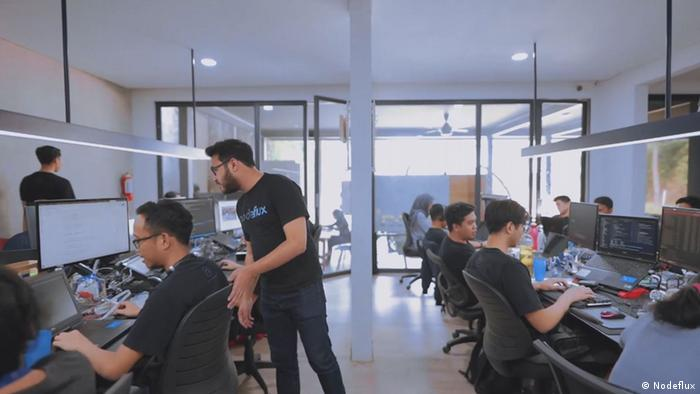 Suasana kantor Nodeflux