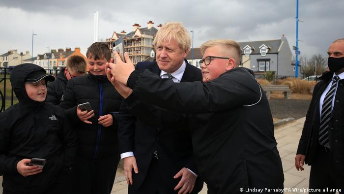 Großbritannien Hartlepool | Besuch Boris Johnson