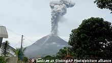 Indonesien Vulkanausbruch Mount Sinabung