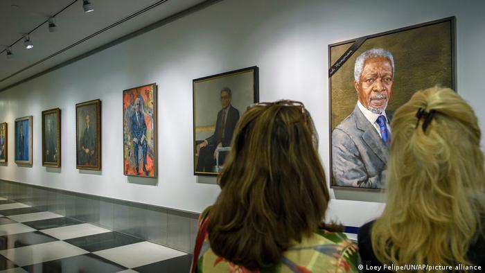 Porträts UN-Generalsekretäre