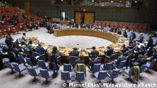 UN-Sicherheitsrat Sitzung
