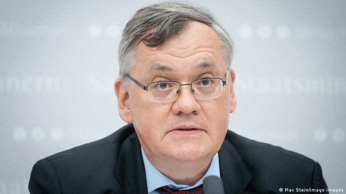 Der Präsident des sächsischen Verfassungsschutzes, Dirk-Martin Christian