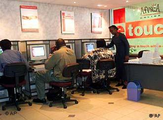 Internet-cafe u Nairobiju