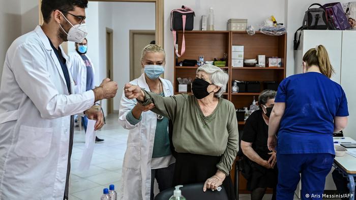 BG Impfkampagnen an abgelegenen Orten | Griechenland Elafonissos
