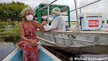 BG Impfkampagnen an abgelegenen Orten | Brasilien Amazonas