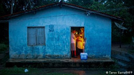 BG Impfkampagnen an abgelegenen Orten | Brasilien Cachoeira do Piria