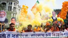 Indien Narendra Modi Rede Menschenansammlungen