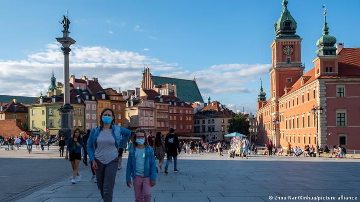 Polen Warschau Altstadt