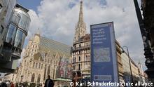 Österreich Wien im Lockdown Stephansdom