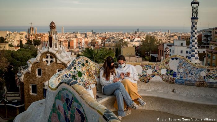 Spanien Barcelona Altstadt