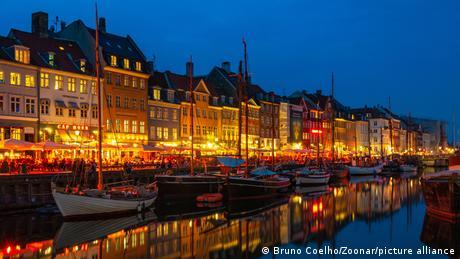Dänemark Kopenhagen Altstadt und Hafen