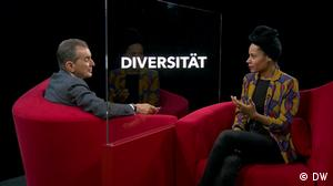 DW TV AEW Auf ein Wort mit Emilia Roig zum Thema Diversität
