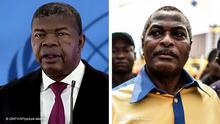 Bildkombo Afrika Joao Lourenco und Abel Chivukuvuku