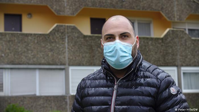 Amir Rakš-Bahar već 11 godina je socijalni radnik u Kelnbergu