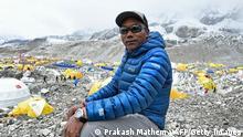 Nepal   Mount Everest - Bergsteiger/Sherpa Kami Rita