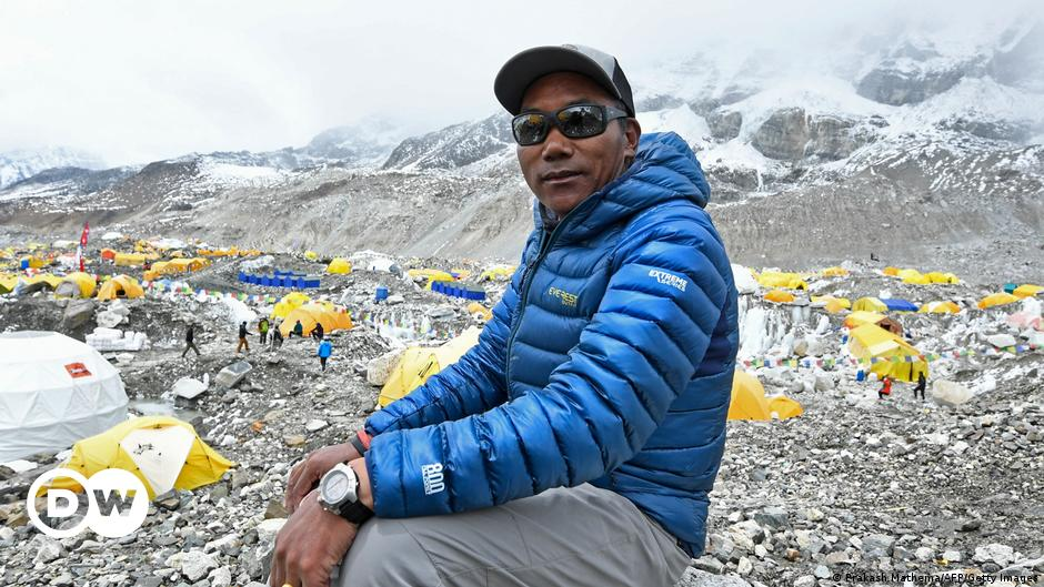 Nepali climber summits Everest 25th time, breaks record