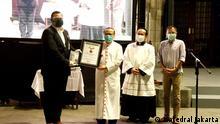 Indonesien Jakarta katholische Kirche für Solarstrom ausgezeichnet