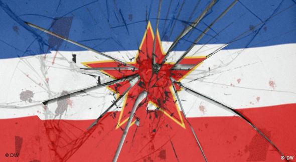 Symbolbild Zerfall Jugoslawien