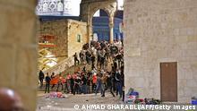 Jerusalem | Tempelberg: Auseinandersetzungen an der al-Aqsa-Moschee