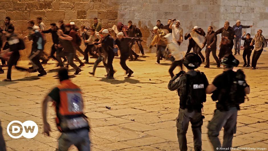 Schwere Unruhen auf dem Jerusalemer Tempelberg