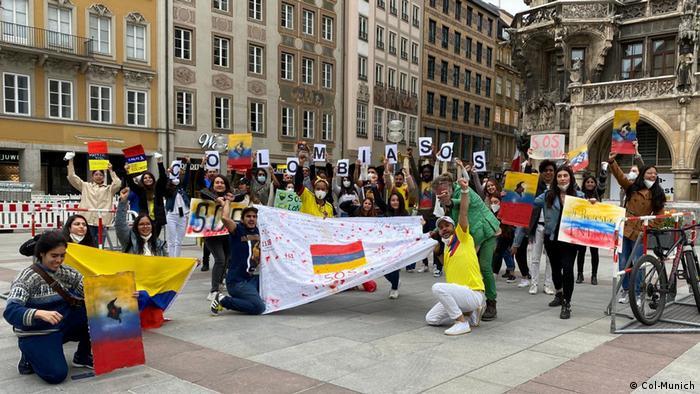 Desde el 5 de mayo se han venido organizando manifestaciones en diferentes ciudades de Alemania.