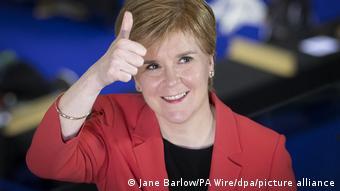 Νίκολα Στέρτζον, πρωθυπουργός Σκωτίας