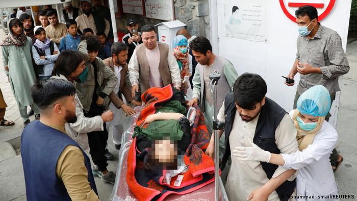 Десятки вбитих і поранених внаслідок вибуху біля школи в Кабулі