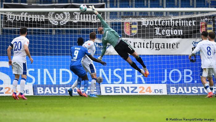 Fußball Bundesliga 1899 Hoffenheim - FC Schalke 04 | TOR Hoffenheim