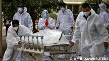 Indien Ahmedabad | Coronavirus, Begräbnisse