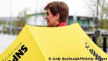 Schottland Wahl 2021 |Nicola Sturgeon, SNP