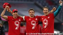 Fußball Bundesliga |FC Bayern München vs. Borussia Mönchengladbach | Deutscher Meister