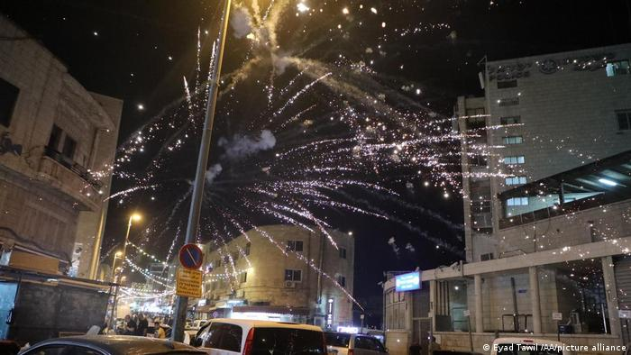 Small explosions in East Jerusalem
