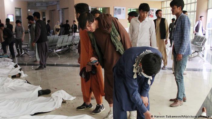 Afghanistan Bombenanschläge auf Schule in Kabul