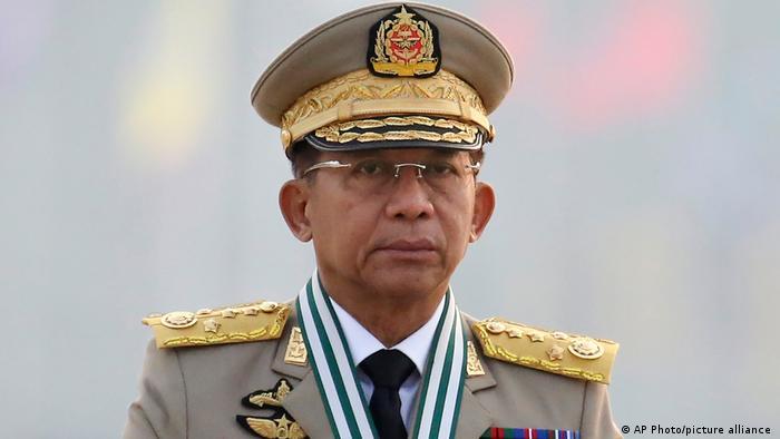 Panglima militer Myanmar Min Aung Hlaing